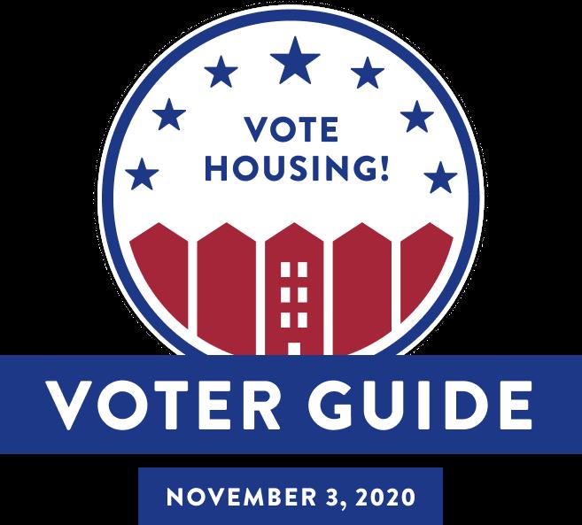 Vote housing! Voter Guide for November 3, 2020