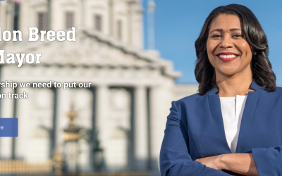 London Breed for San Francisco Mayor